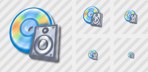 CD To Audio Icon