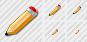 Pen Yellow Icon