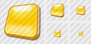 Rect Yellow Icon