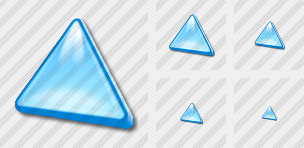Triang Cyan Icon
