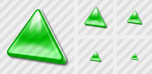 Triang Green Icon