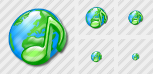 Web Music Icon