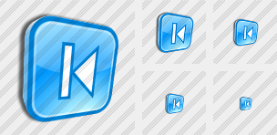 Skip Backward Icon
