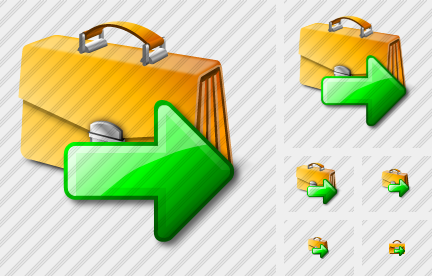 Breafcase Export Icon