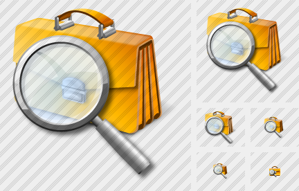 Breafcase Search Icon