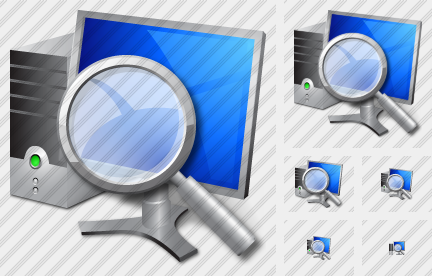 Computer Search Icon