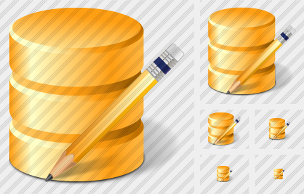 Database Edit Icon
