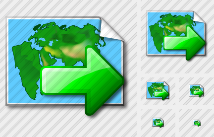 Doc Map Export Icon