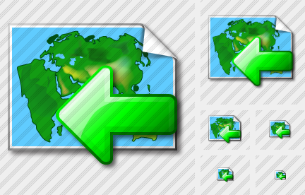 Doc Map Import Icon