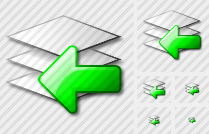 Layer Import Icon