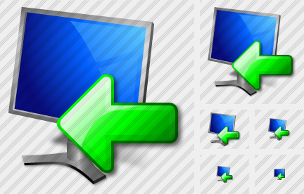 Monitor Import Icon