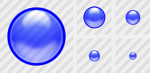 Blue Ball Icon