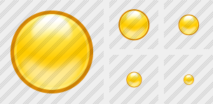 Yellow Ball Icon