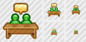 2 Pupils Speech Icon