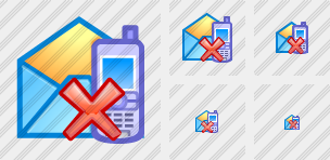 Sms Email Delete Icon