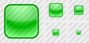 Square Green Icon