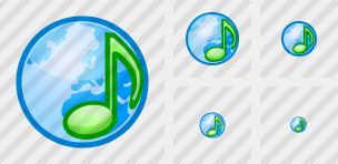Web Music 2 Icon