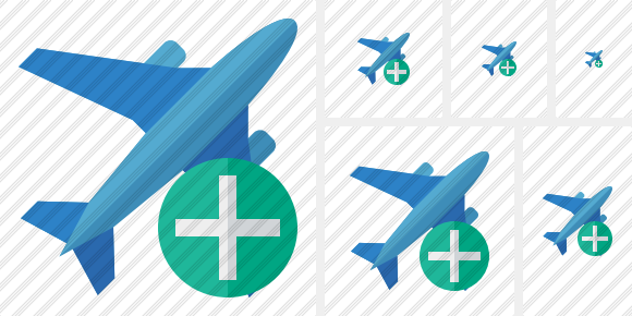Airplane 2 Add Icon