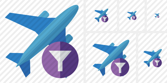 Airplane 2 Filter Icon