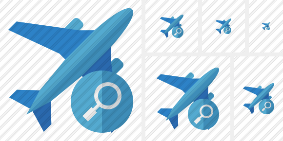 Airplane 2 Search Icon