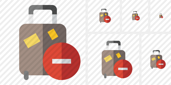 Baggage Stop Icon