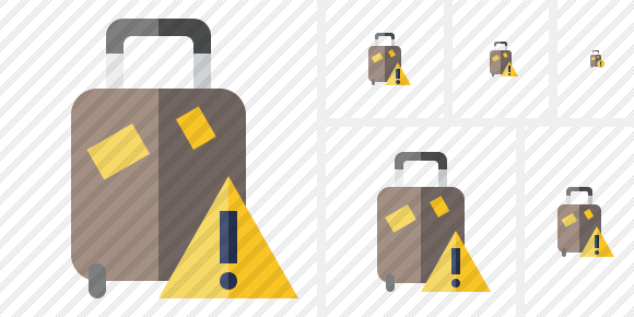 Baggage Warning Icon