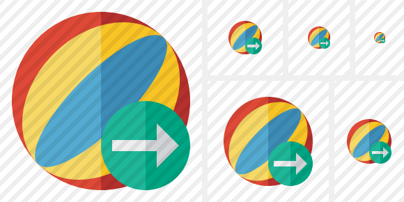 Beach Ball Next Icon