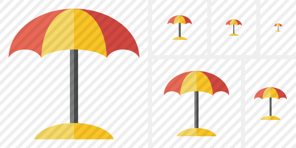 Icone Beach Umbrella