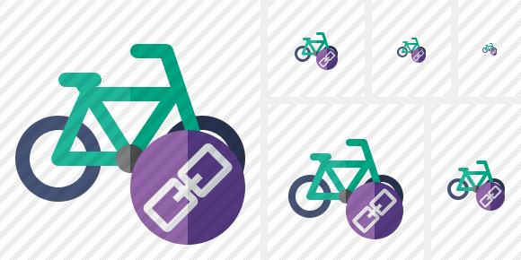 Bicycle Link Icon