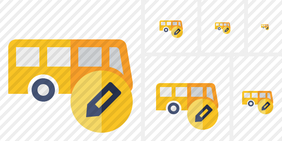 Bus Edit Icon