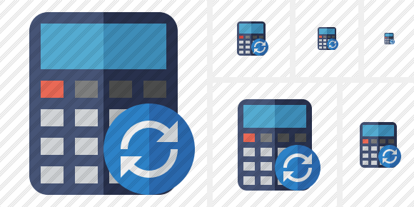 Calculator Refresh Icon