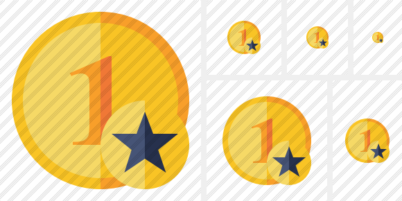 Coin Star Icon