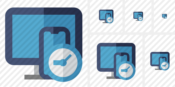 Devices Clock Icon