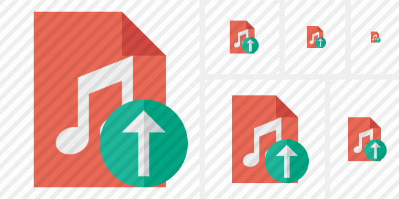 File Music Upload Icon