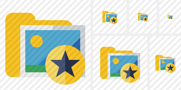 Folder Gallery Star Icon