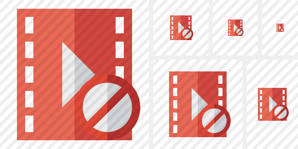Movie Block Icon