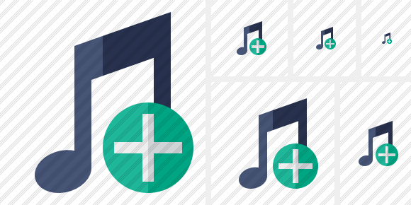 Music Add Icon