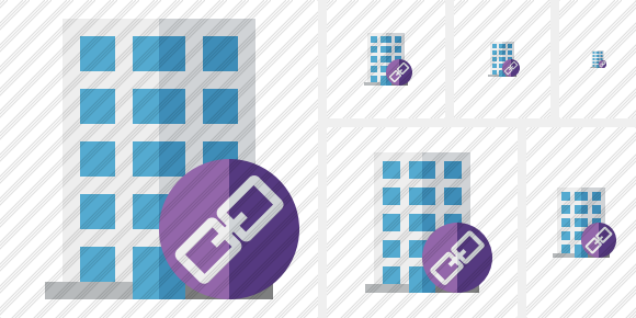 Office Building Link Icon