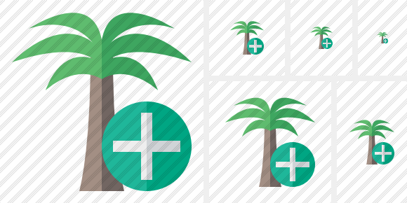 Icone Palmtree Add