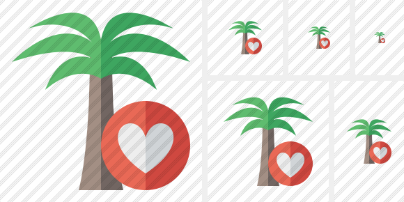 Palmtree Favorites Icon
