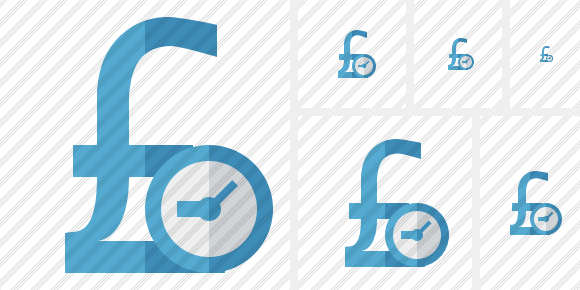 Pound Clock Icon