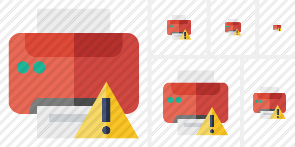 Print Warning Icon
