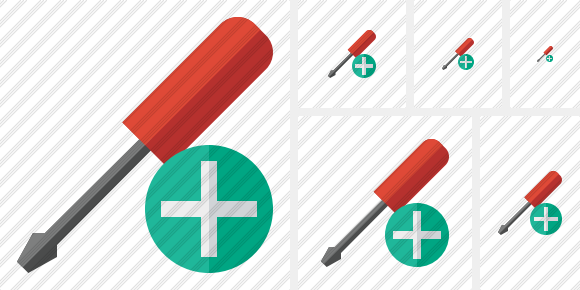 Screwdriver Add Icon
