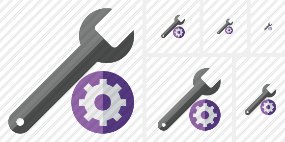 Spanner Settings Icon