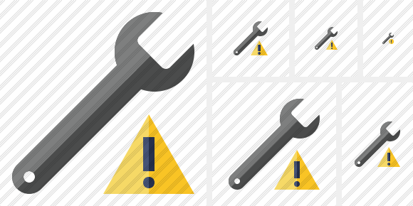 Spanner Warning Icon