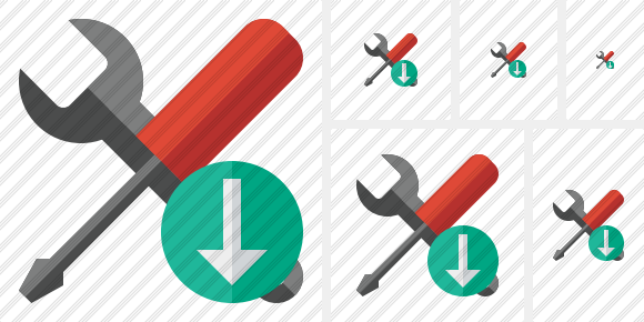 Tools Download Icon