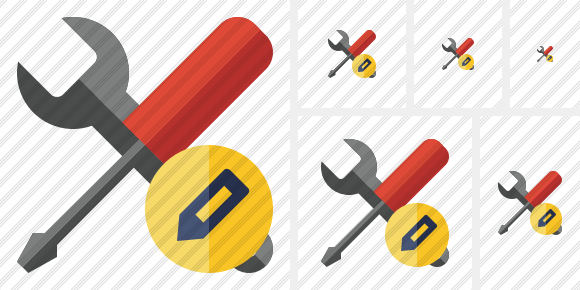 Tools Edit Icon
