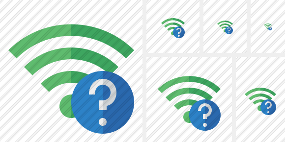 Wi Fi Green Help Icon