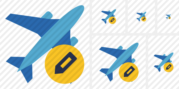 Airplane 2 Edit Icon