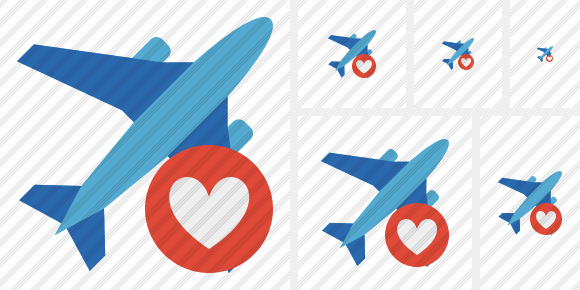 Airplane 2 Favorites Icon